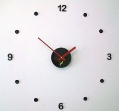 Acrylic wall clock with swarovski. modern #design, kitchen, #home.choice #color d,  View more on the LINK: http://www.zeppy.io/product/gb/2/200809828811/