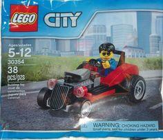 LEGO City 30354 Hot Rod Roadster Set New/Sealed 38pcs Ages 5+  New Toy!! Kids #LEGO