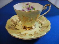 German Antique Tea Cups Saucers | ... Arts - Ceramics & Porcelain - Cups & Saucers | Antiques Browser