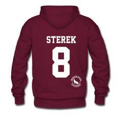 """STEREK 8"" - Hoodie (XL Logo +S)   TEEN WOLF Merchandise (All purely FAN MADE :)"