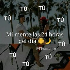 You're on my mind every day, every hour, every second, and in every thought 💙. Love My Man, Love Of My Life, Love You, Love In Spanish, Romantic Humor, Poetry For Kids, Amor Quotes, Morning Love Quotes, Love Phrases
