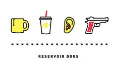 Reservoir Dogs, Four Icon Challenge Art Print