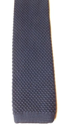 Next Skinny Knitted Neck Tie Blue Mod Lambretta Northern Soul Scooter FREE P&P #Next #Tie