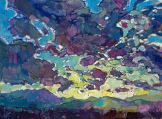 Royal Clouds - Contemporary Impressionism | Landscape Oil Paintings for Sale by Erin Hanson