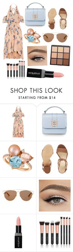 """Untitled #115"" by addie2006 ❤ liked on Polyvore featuring Ulla Johnson, LE VIAN, Nine West, Christian Dior, Smashbox and Morphe"