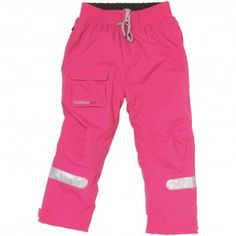 Didriksons' Kid's Noki Pants for warmth on the water - fuschia pink