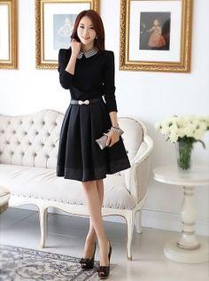 Novo 2013 Roupas Femininas no inverno, outono e inverno manga comprida vestido de cultivar a moralidade de renderização Skirt US $21.90
