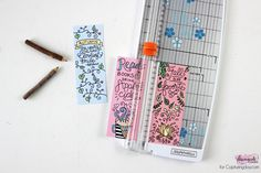 Fall Bookmarks Coloring Page - Capturing Joy with Kristen Duke