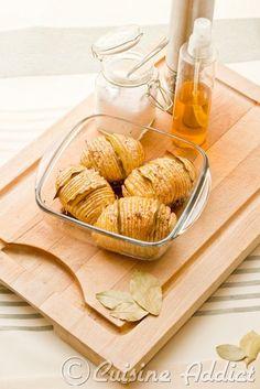 Pommes de terre à la Suédoise {Hasselbackpotatis} -