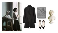 """""""ariadne"""" by mermaidism ❤ liked on Polyvore featuring The Row, Sofia Cashmere, Zara, classic, autumn, sweaterweather, mythology and september"""