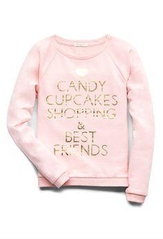 Cupcakes & Shopping Sweatshirt | FOREVER21