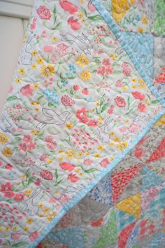 Sarah Jane Sommer quilt - Diary of a Quilter - a quilt blog http://www.diaryofaquilter.com/2015/11/sarah-jane-sommer-quilt.html