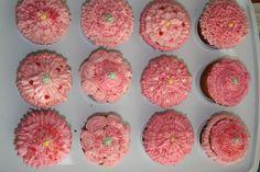 Pink cupcakes