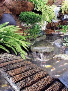 Taman kolam ikan