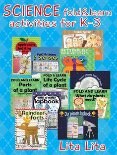 Lots of Science Fold & Learn activities!