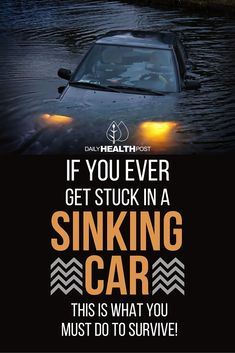 In most instances of being stuck in a sinking car, the victim tries calling 911 as their car sinks in the hope of being rescued in time. Sadly, some dispatchers don_t know how to handle the situation and their victim drowns while waiting for help.