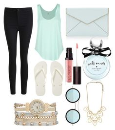 """""""#7"""" by isabellaobrien14 ❤ liked on Polyvore featuring Rip Curl, Havaianas, maurices, Rebecca Minkoff, Kate Spade, Laura Mercier and Kyme"""