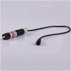 71.25$  Buy now - http://aliac5.worldwells.pw/go.php?t=32595677836 - 300mW 808nm focusable Line laser module (Gauss beam) with power adapter plug and use 16x72mm