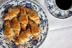 Coffee and croissants by Completely Delicious, via Flickr