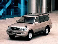 Toyota Land Cruiser Cygnus (UZJ100W) '1998–2003