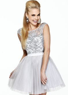 silver dresses for quinceanera damas - Google Search