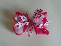 Summer Lovin' bright boutique hair bows by GettinAllGussiedUp.etsy.com, $5.00
