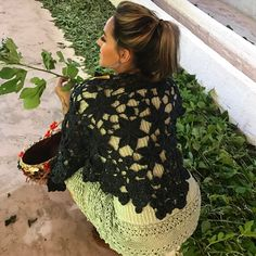 "774 curtidas, 5 comentários - Vanessa Montoro (@vanessamontoro) no Instagram: ""Behind the scenes ✨❤️ #vanessamontorocrochet #vanessamontorostyle #authentic #timeless"""