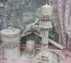 Martinel: White shabby chic decoration - Шаби шик декорация в бяло