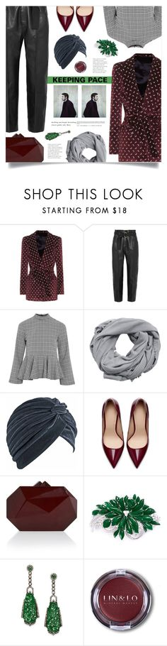 """""""Keeping Pace"""" by marina-volaric ❤ liked on Polyvore featuring Blazé Milano, Petar Petrov, Topshop, MANGO, Zara, Elie Saab, LC COLLECTION and Bavna"""