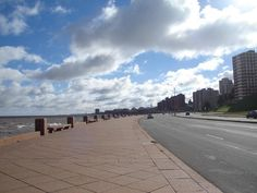 Rambla de Montevideo. Montevideo, Sidewalk, Driveways, Uruguay, Countries, Places, Walkways, Pavement
