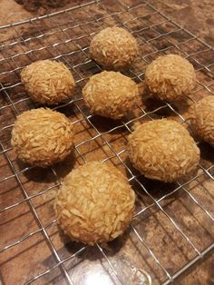 "Easy Coconut Peanut Butter Balls (""Zagnut"" Balls) ~Low Carb ~ 1 net carb per cookie. Never had a Zagnut bar?, they are (ahem...sugar filled) comprised of a crisp peanut butter center like a Butterfinger or a Clark bar-- but is wrapped in toasted coconut instead of chocolate. Another similar candy is another vintage one: the Chick-O-Stick."