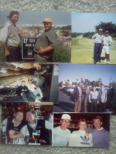 Collage from the 1990s.