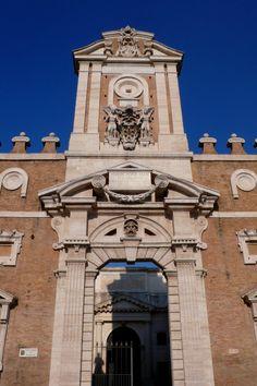 Porta Pia, Rome, 1561-65. One of Michelangelo's last works.