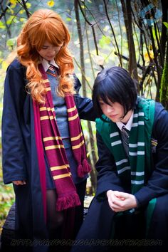 Cosplay: Lily & Severus <3