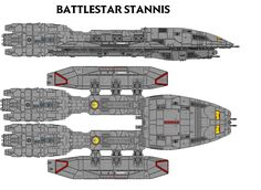 BS STANNIS by Keyser94 on DeviantArt.  I am not so sure about this design.  I have my doubts of its stability.