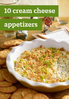 10 Cream Cheese Appetizers – These cream cheese appetizer recipes showcase the delicious versatility of PHILADELPHIA cream cheese. Savory or sweet, you'll find a cream cheese appetizer that will soon become one of your family's favorites.