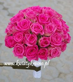 Pink weedding bouquet