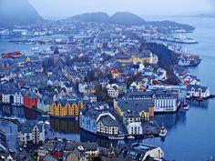 Alesund - Noruega   Flickr