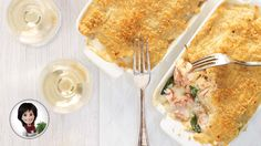 Seafood au gratin from Josée di Stasio Seafood Dishes, Fish And Seafood, Seafood Recipes, Cooking Recipes, Specialty Meats, Vegan Junk Food, Vegan Sushi, Vegan Smoothies, Recipe Details
