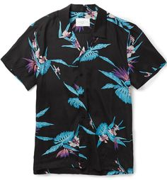 Chemise fleurs hawaïenne Sandro homme