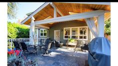 Partially covered back deck.