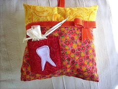 Tooth Fairy pillow | Sewn Up by TeresaDownUnder