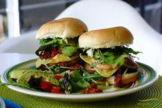 Portobello Burger vegan