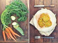 beautiful_food: Морковно-кабачковые оладьи.
