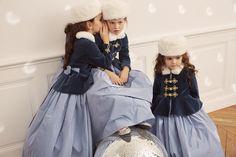IVOY PARIS Taffeta dress and ushanka - Anastasia