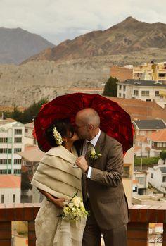 Parapluie rouge | Flickr: Intercambio de fotos