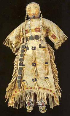 Кукла, Сиу. Период 1875-1900. Коллекция Fenn. 14 дюймов. Splendid Heritage.