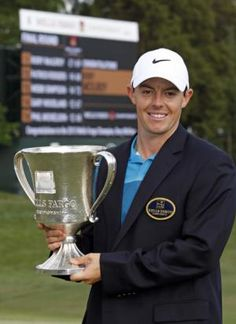 Rory McIlroy wins Wells Fargo Championship for the 2nd time. #golf
