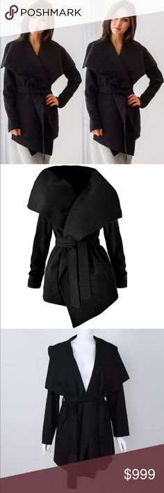 Preview! Black Belted Trench Coat Preview! Black Belted Trench Coat • Also Available in Charcoal & Camel in separate listings. Coming Soon! Like this listing to be notified upon arrival Jackets & Coats Trench Coats