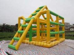 Quality Inflatable Water Sport manufacturers & exporter - buy Durable PVC Fabric Inflatable Water Sport / Inflatable Jungle Joe from China manufacturer. Inflatable Water Park, Pvc Fabric, Sewing Notions, Water Sports, Playground, House, Children Playground, Home, Outdoor Playground